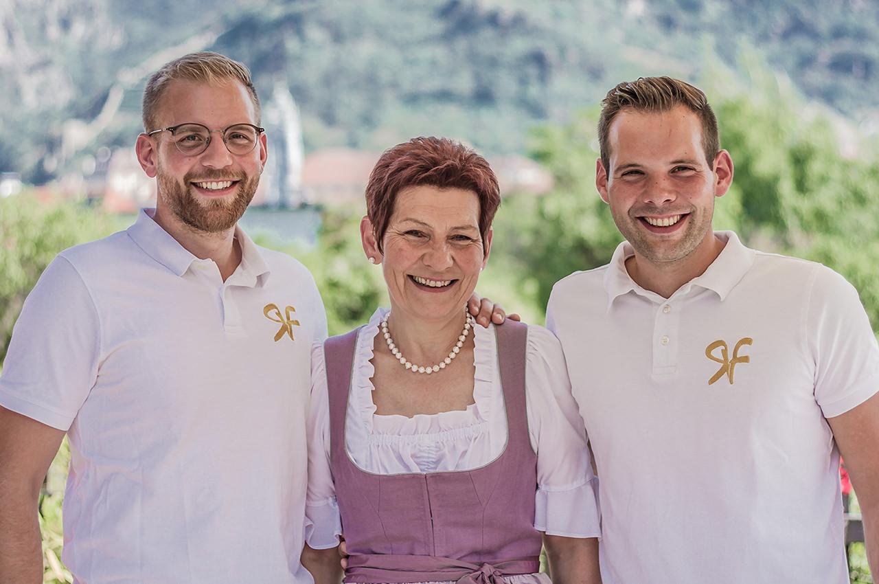 Portrait Familie Rehrl Fischer